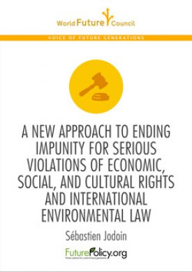 A new approach to ending impunity for serious Violations of economic, social, and cultural rights and international environmental law